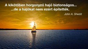 hajós idézet