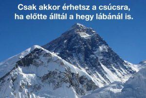 hegymászás motiváció
