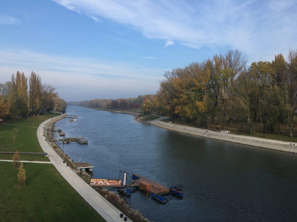 Mosoni-Duna, Győr