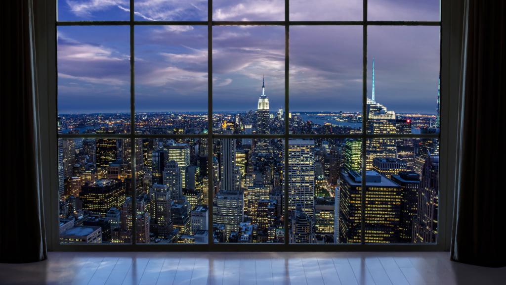 Kilátás New York-ra