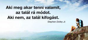 Stephen Dolley idézet