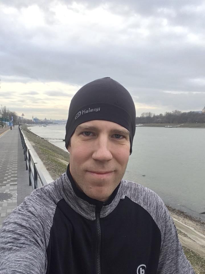 Duna part futás