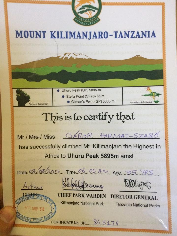 Kilimandzsáró