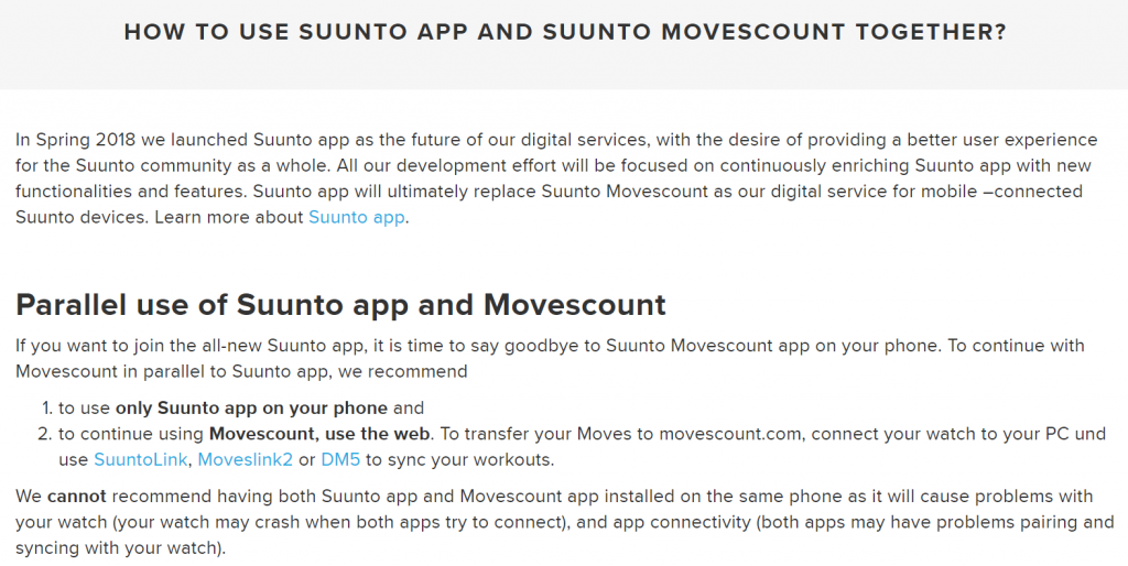 Suunto and Movescount