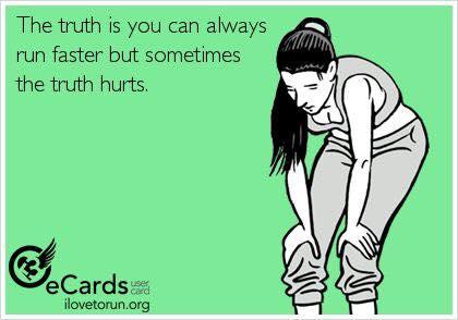Néha fáj futás közben.