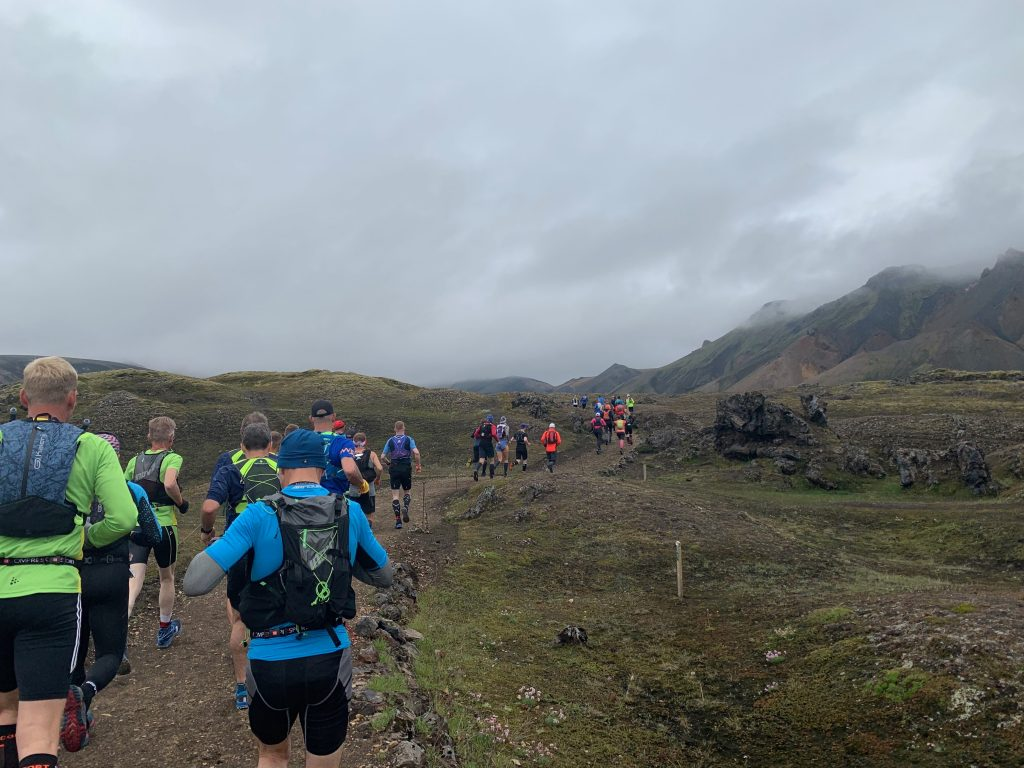 Laugavegur Ultra Marathon first part