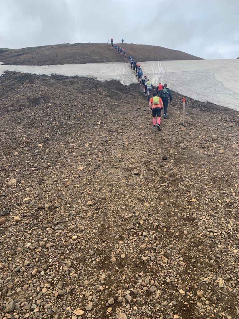 Laugavegur Ultra Marathon hegymenet