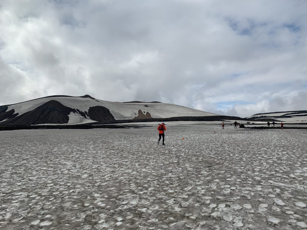 Laugavegur Ultra Marathon hó és jég