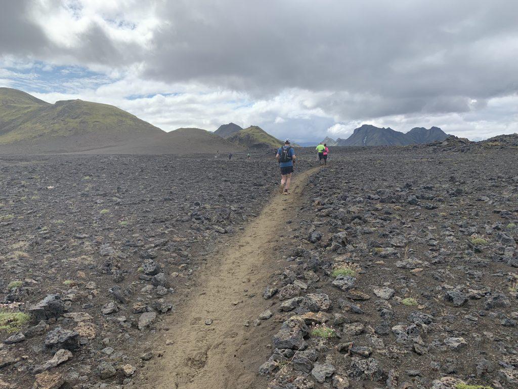 Laugavegur Ultra Marathon köves táj