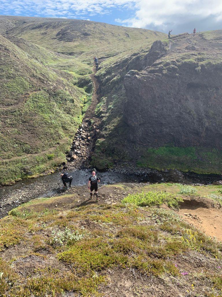 Laugavegur Ultra Marathon kanyon