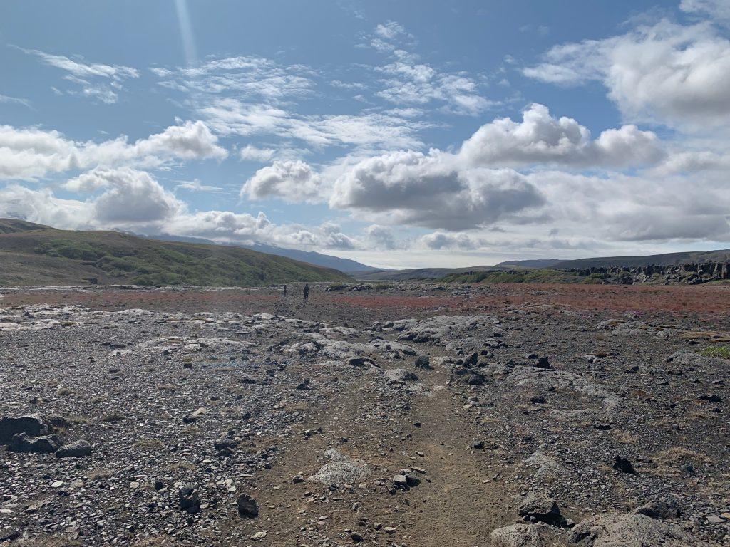 Laugavegur Ultra Marathon köves sivatag