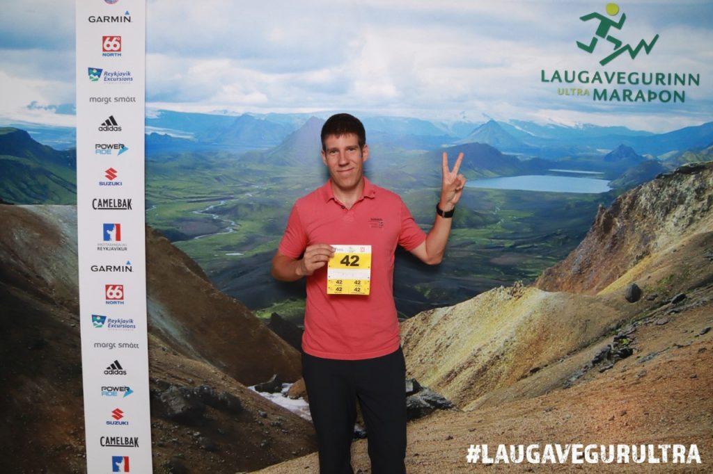 Laugavegur Ultra Marathon rajtszám átvétel